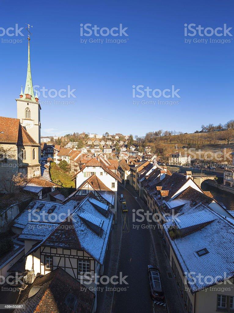 Old City Bern, Switzerland royalty-free stock photo