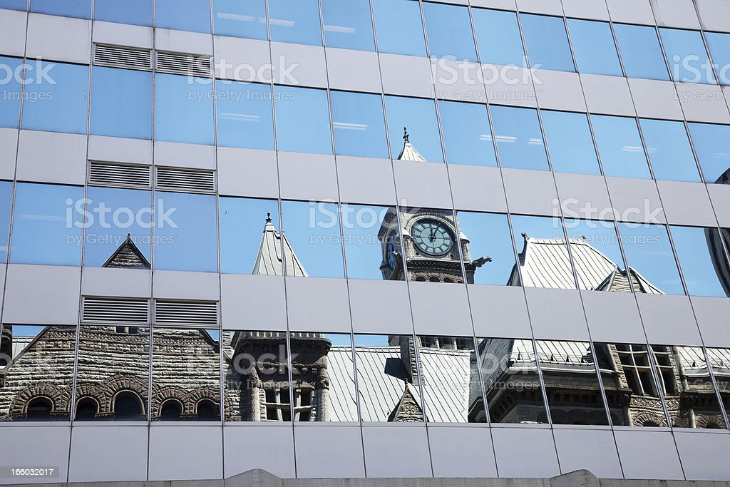 Old City Hall in downtown Toronto stock photo
