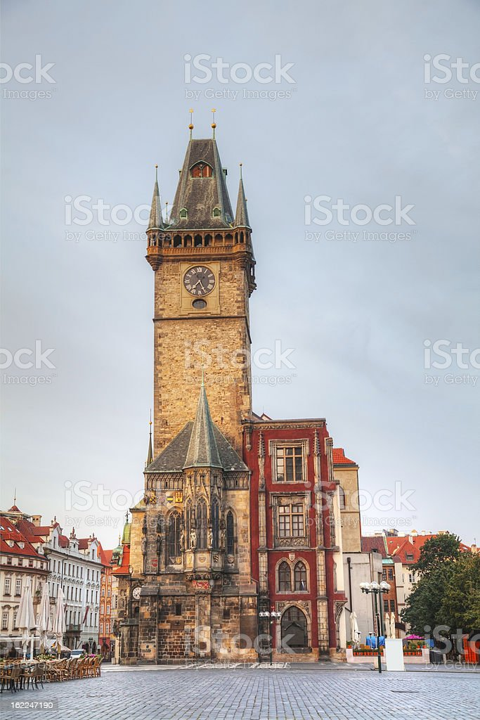 Old City Hall in Prague royalty-free stock photo