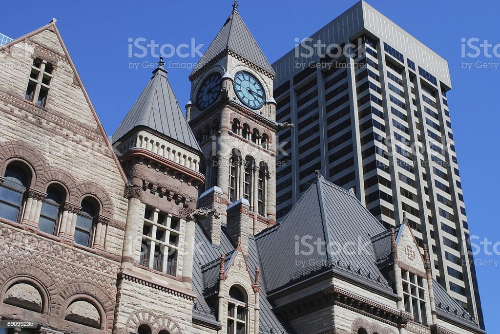 Old City Hall in Toronto, Canada stock photo
