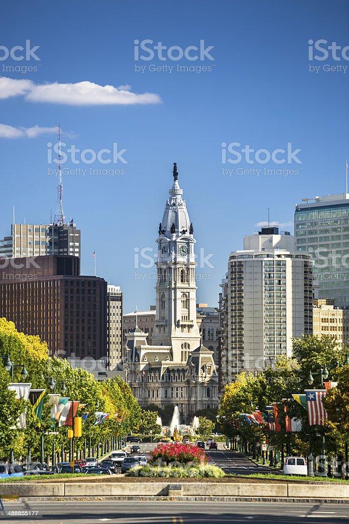 Old City Hall Philadelphia stock photo