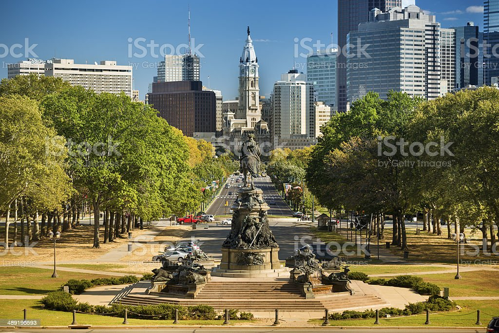 Old City Hall Philadelphia stock photo