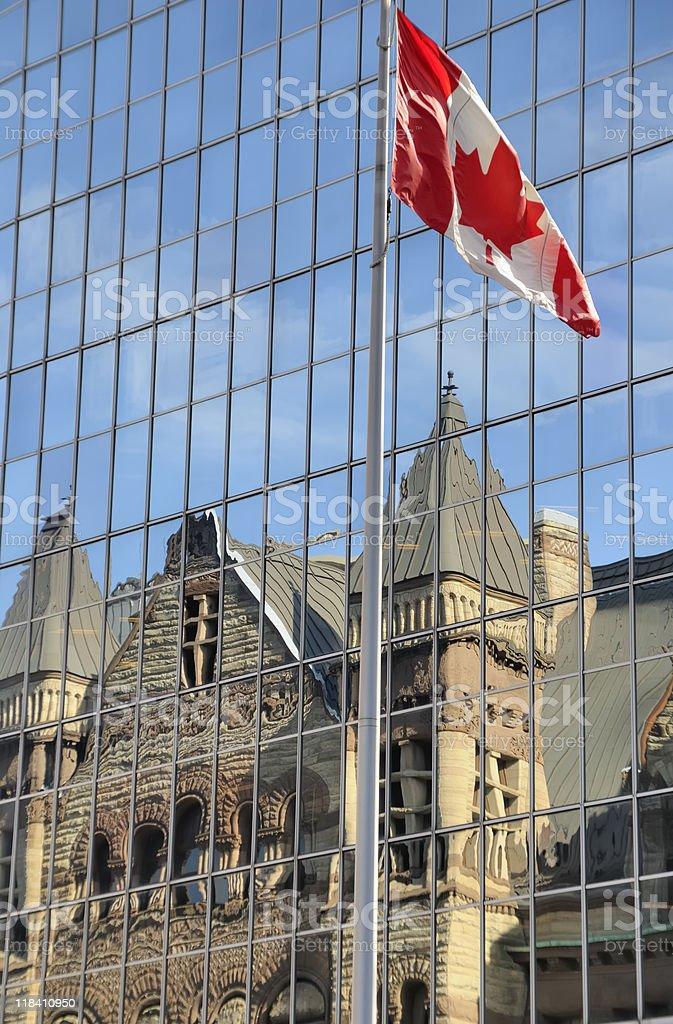 Old City Hall, Toronto royalty-free stock photo