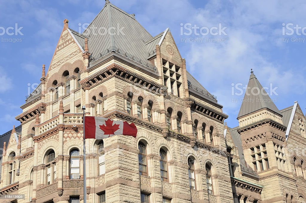 Old City Hall, Toronto stock photo