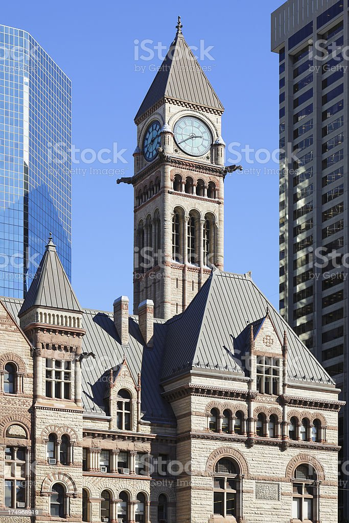 Old City Hall - Toronto stock photo