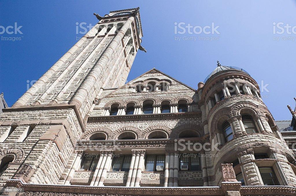 Old city hall Toronto stock photo