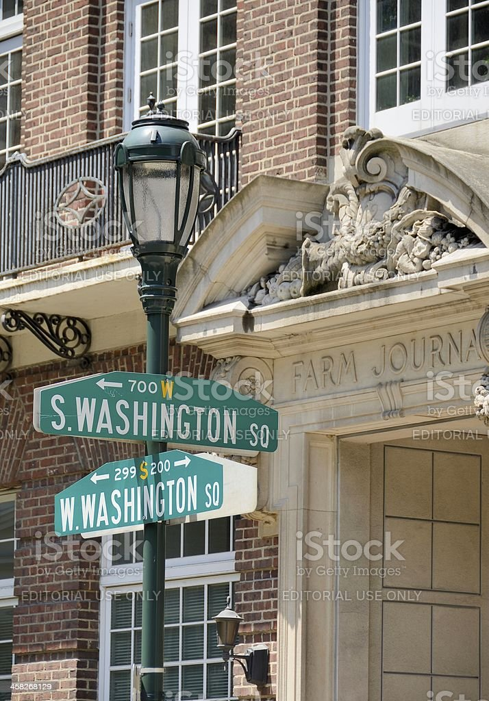 Old City Historic District, Philadelphia royalty-free stock photo