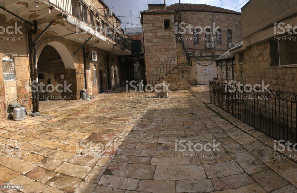 old city, jerusalem, israel stock photo