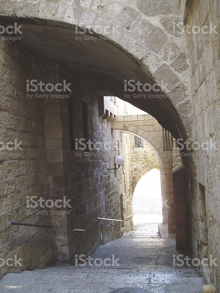 Old City, Jerusalem royalty-free stock photo