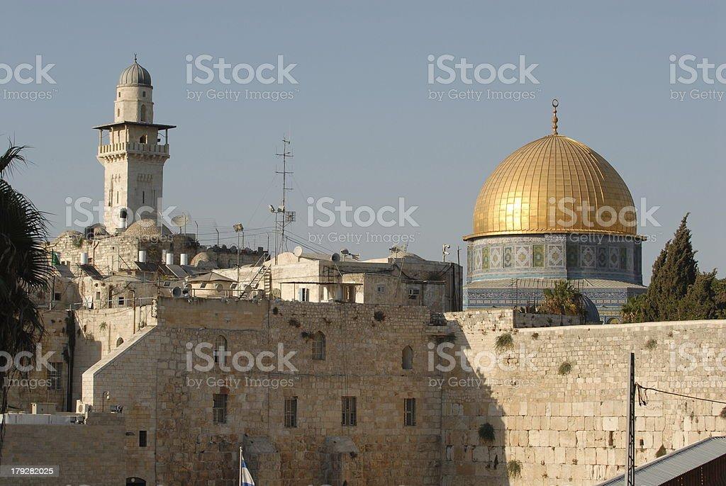 Old City Jerusalem royalty-free stock photo