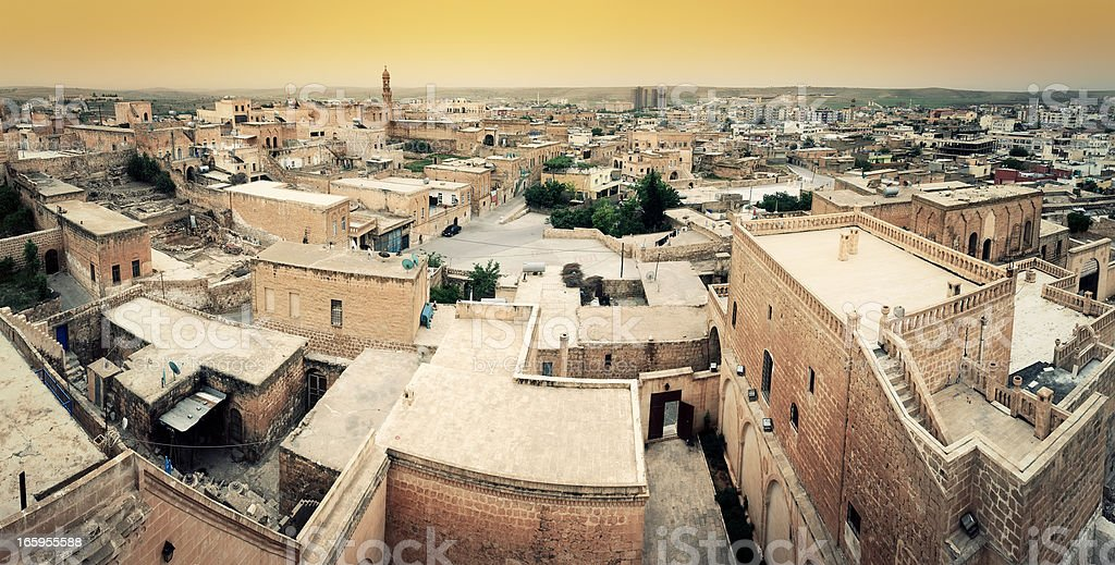 Old City Midyat, Mardin, TURKEY stock photo