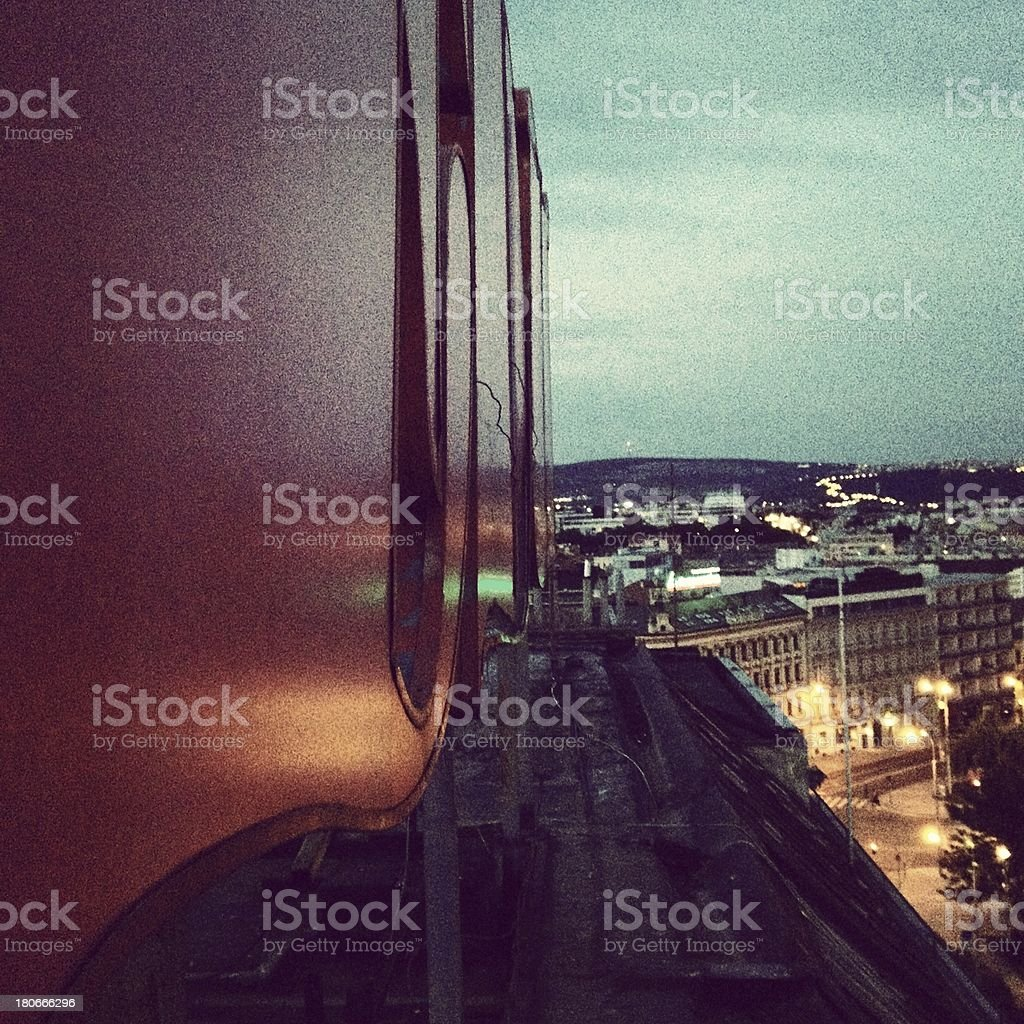 Old City Night View royalty-free stock photo