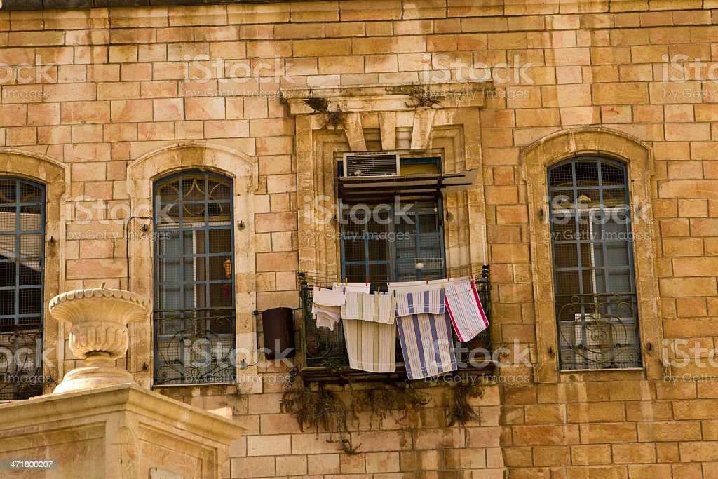Old city of Jerusalem royalty-free stock photo
