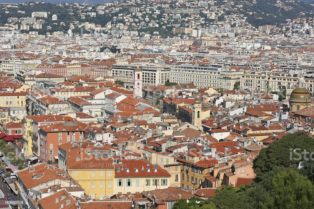 Old City of Nice, French riviera, France. royalty-free stock photo