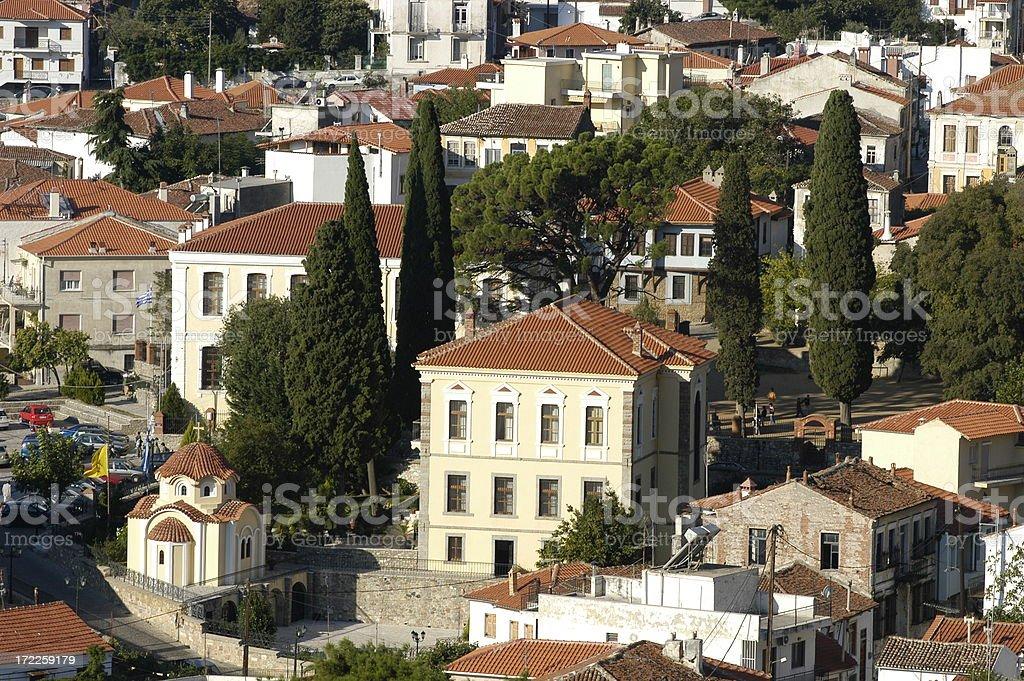 Old City of Xanthi, Greece stock photo