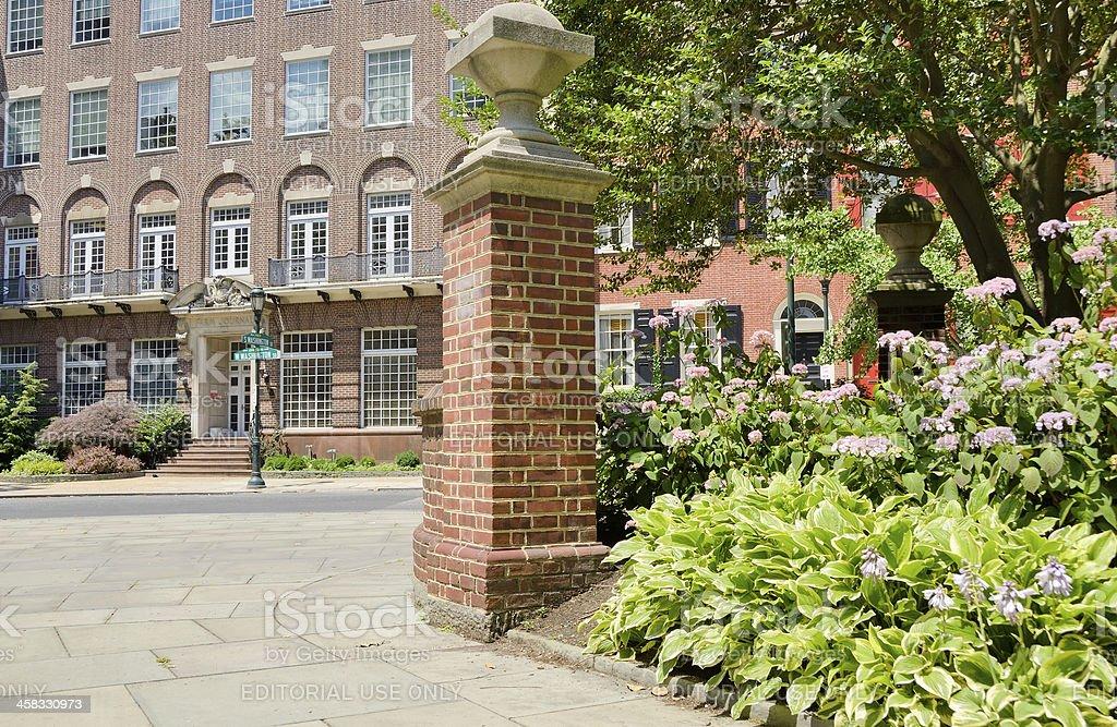 Old City, Philadelphia royalty-free stock photo