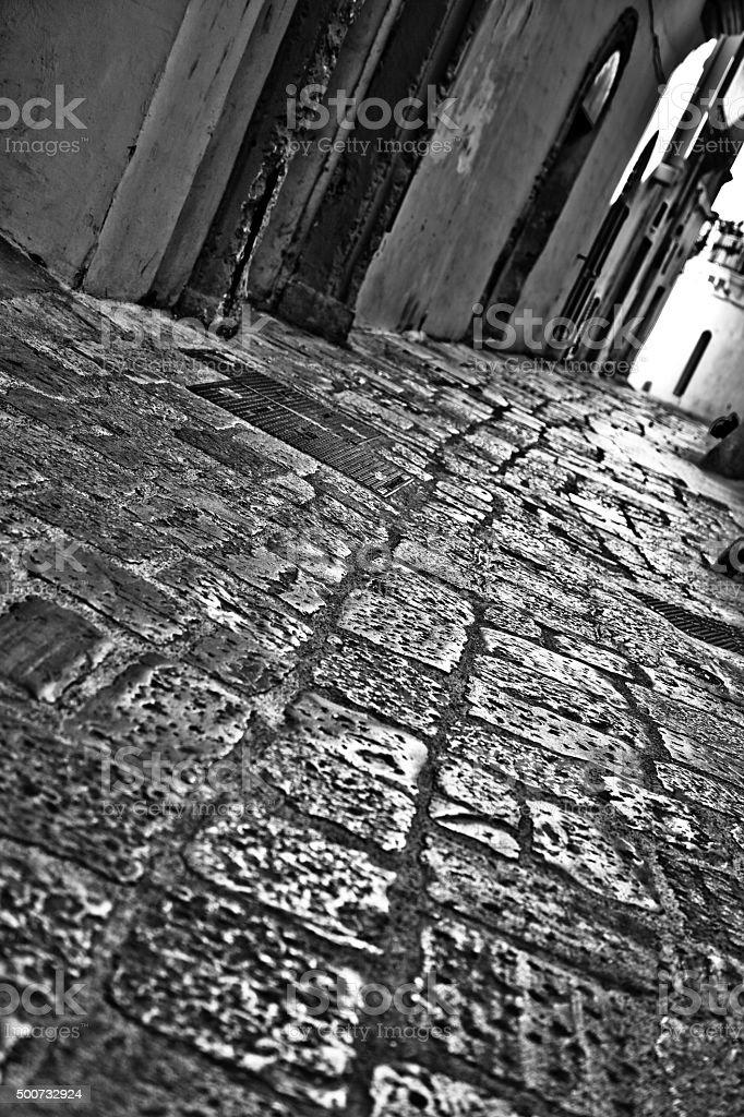 Old city stock photo