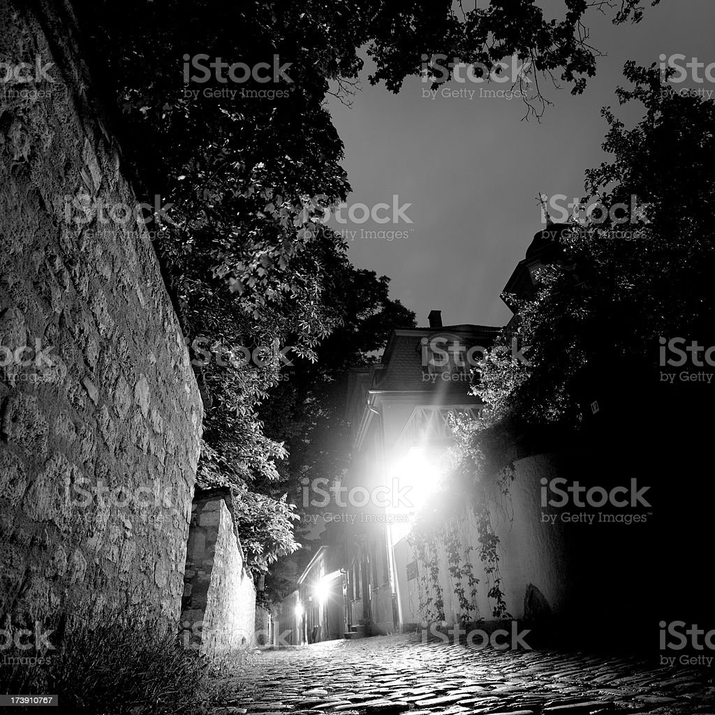 Old City Road royalty-free stock photo