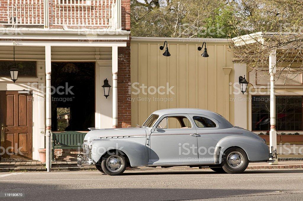 Vieja coche clásico foto de stock libre de derechos
