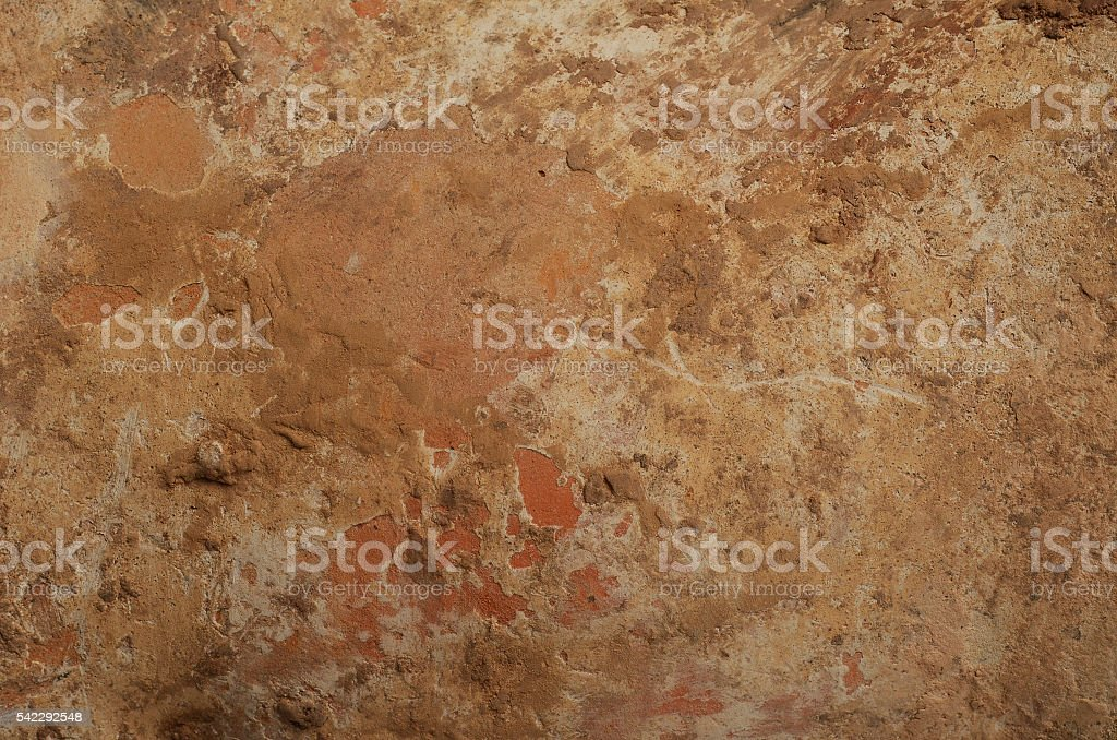 Old clay pot texture stock photo