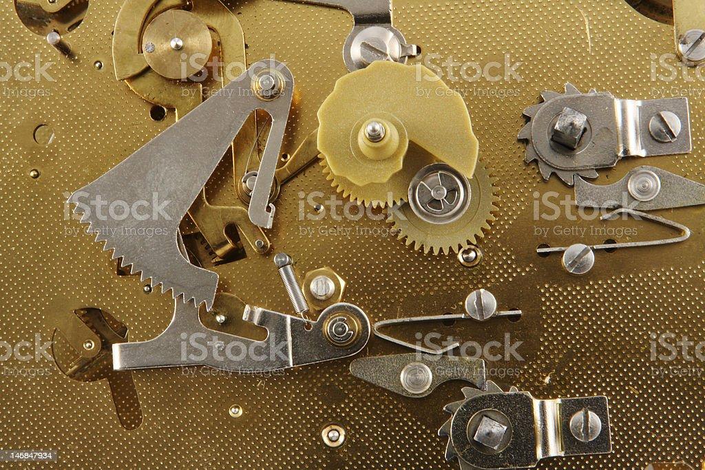 Old Clock Innards royalty-free stock photo