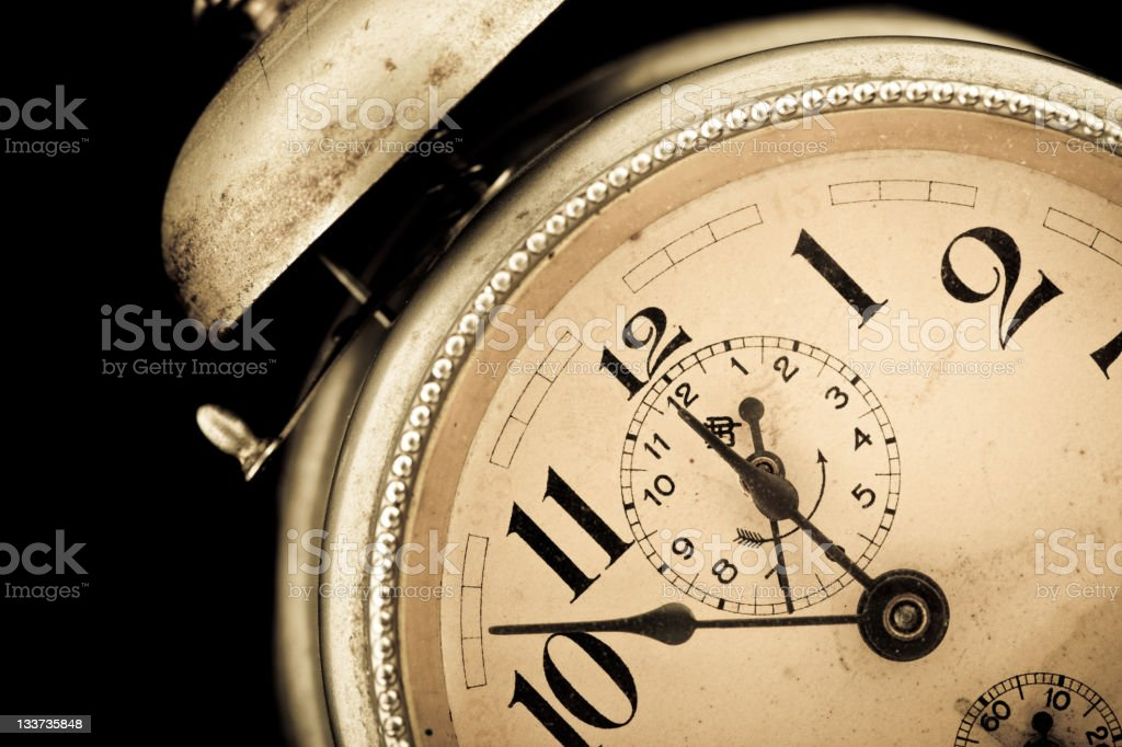 Old clock royalty-free stock photo