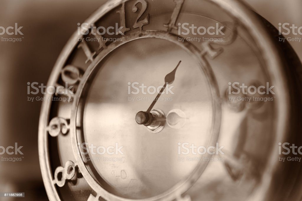 Old clock. stock photo
