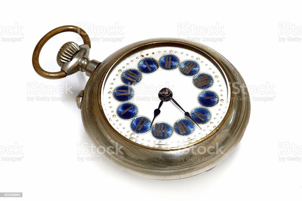 Old clock royalty-free stock photo