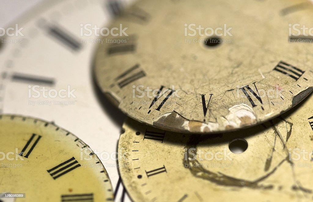 old clocks royalty-free stock photo