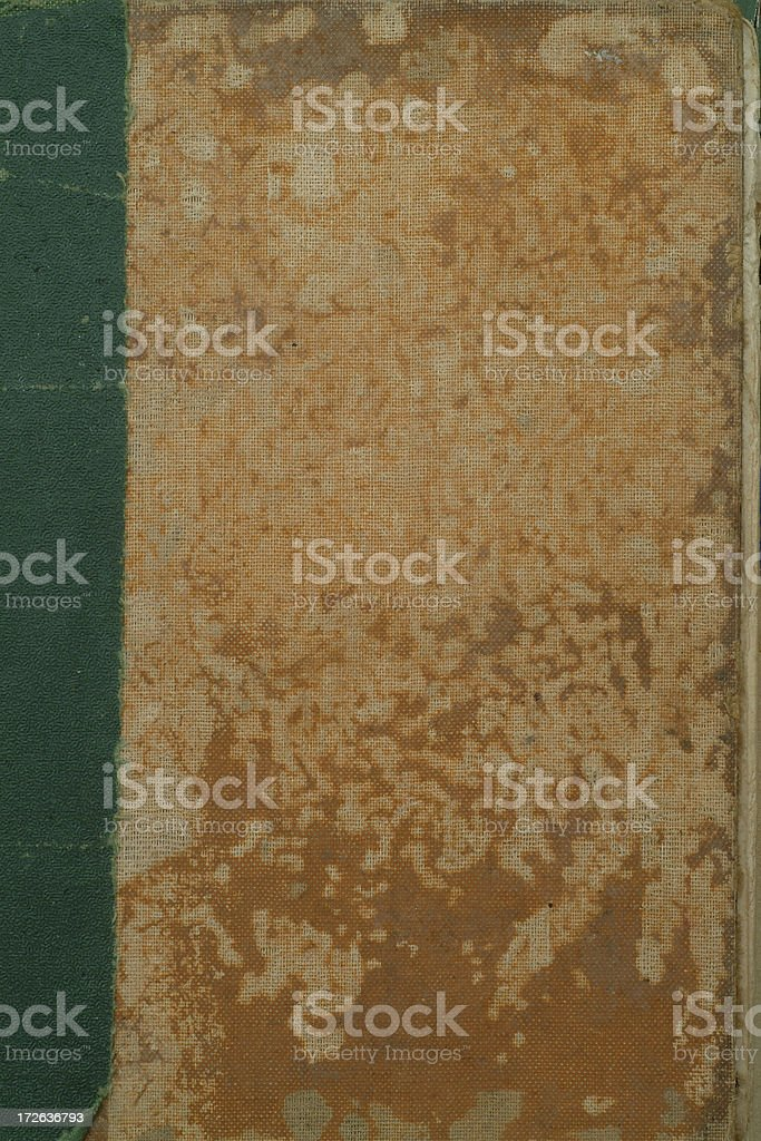 Old cloth covered book royalty-free stock photo
