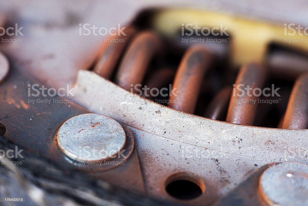 Old Clutch Detail royalty-free stock photo