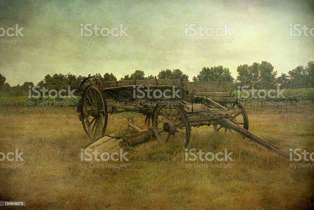 old coach in South Africa stock photo