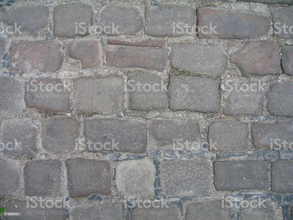 Old cobblestones royalty-free stock photo