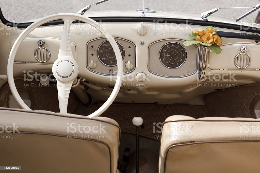 old cockpit royalty-free stock photo