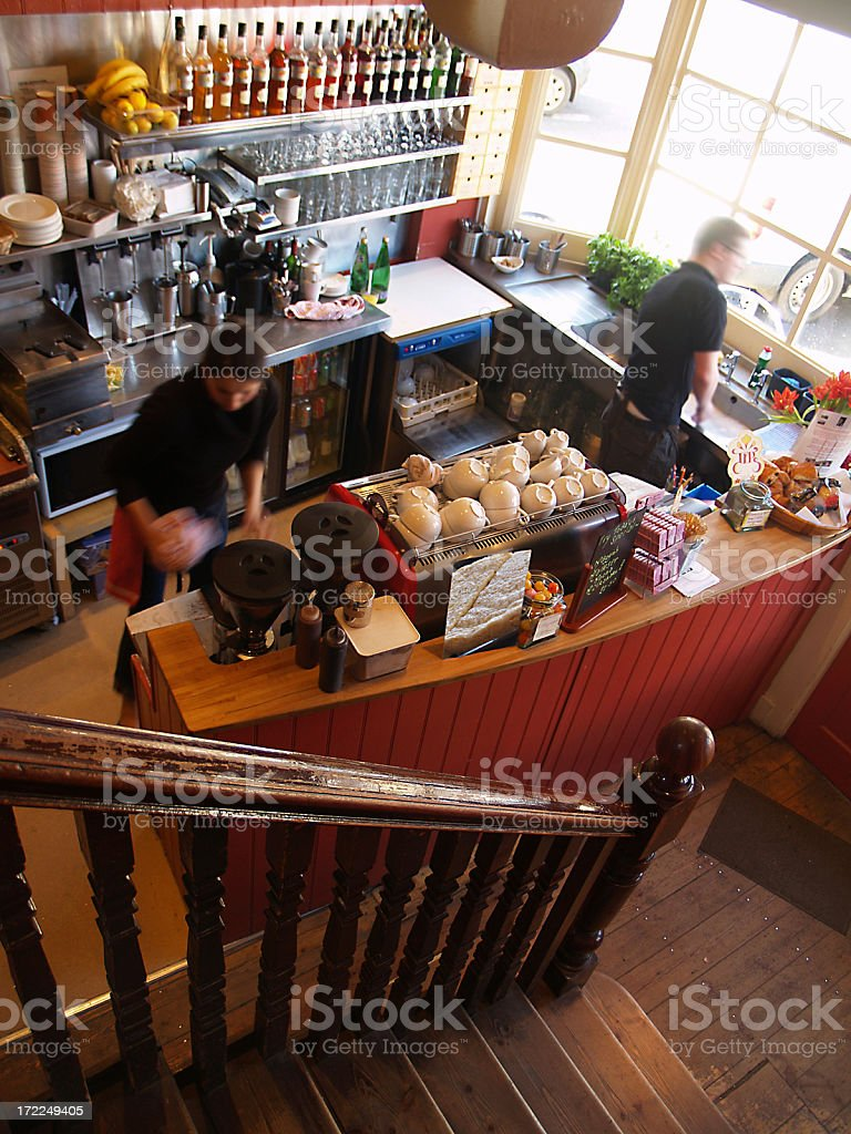 Old Coffee Shop royalty-free stock photo