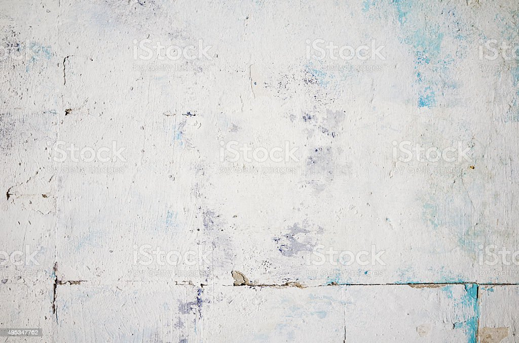 Old color white wall painted background stock photo