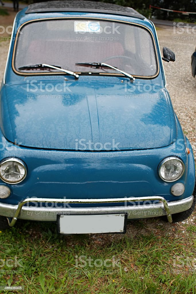 Old colorful car royalty-free stock photo