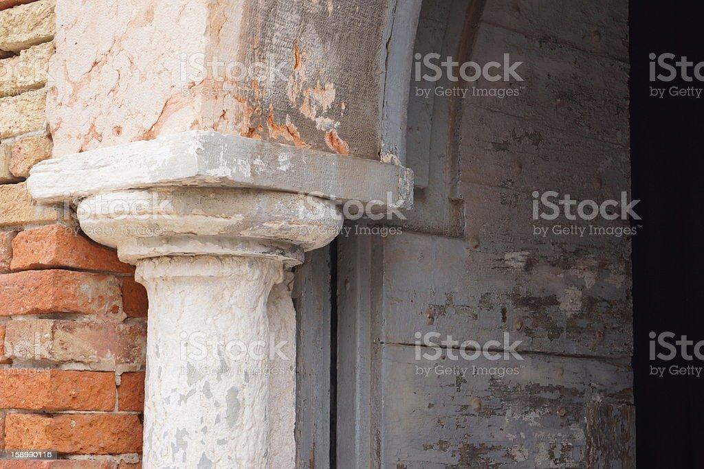 Old column stock photo