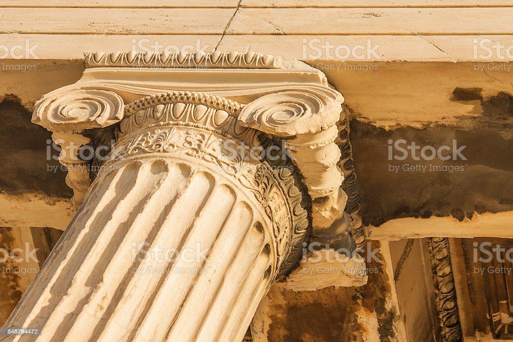 Old column. stock photo