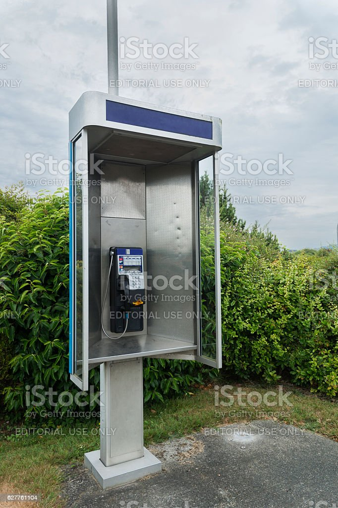 Old communications technology stock photo