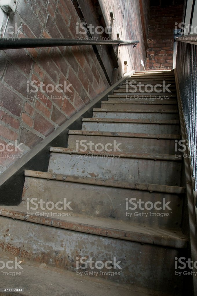 Old Concrete Steps royalty-free stock photo