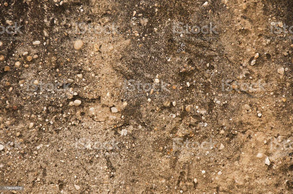 Old Concrete Wall - Texture royalty-free stock photo