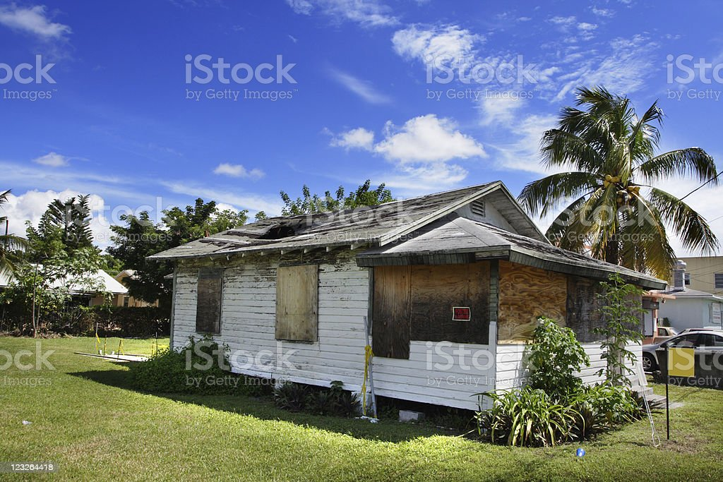 Old Condemned House royalty-free stock photo