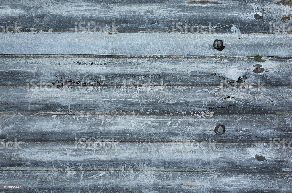Old Corrugated Iron Background Texture stock photo