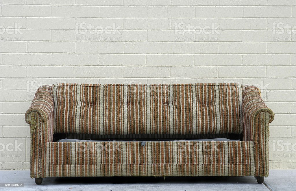 Old Couch royalty-free stock photo