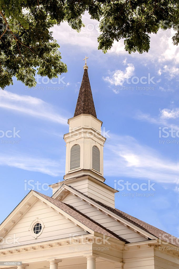Old country Church stock photo