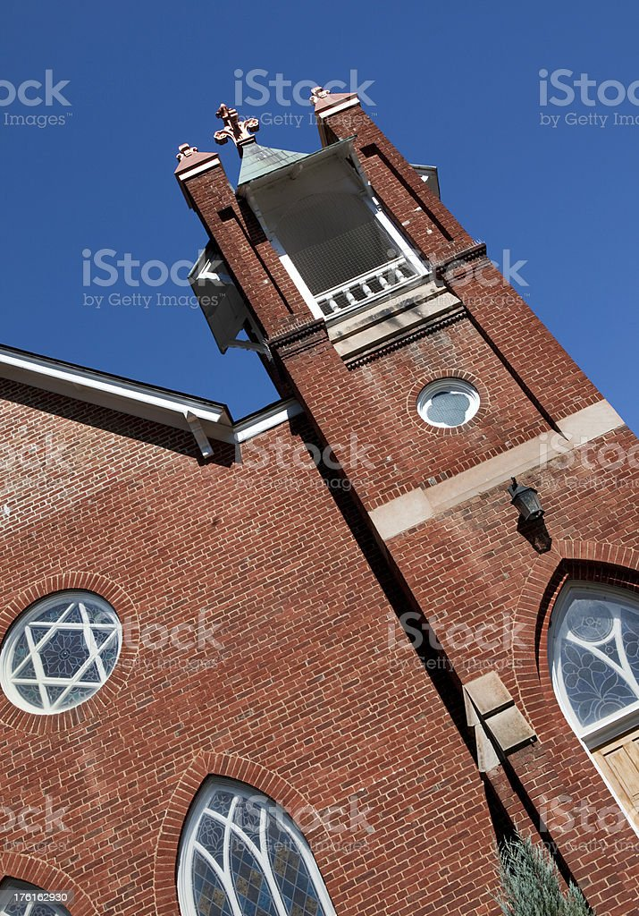 Old Country Church Rural America royalty-free stock photo
