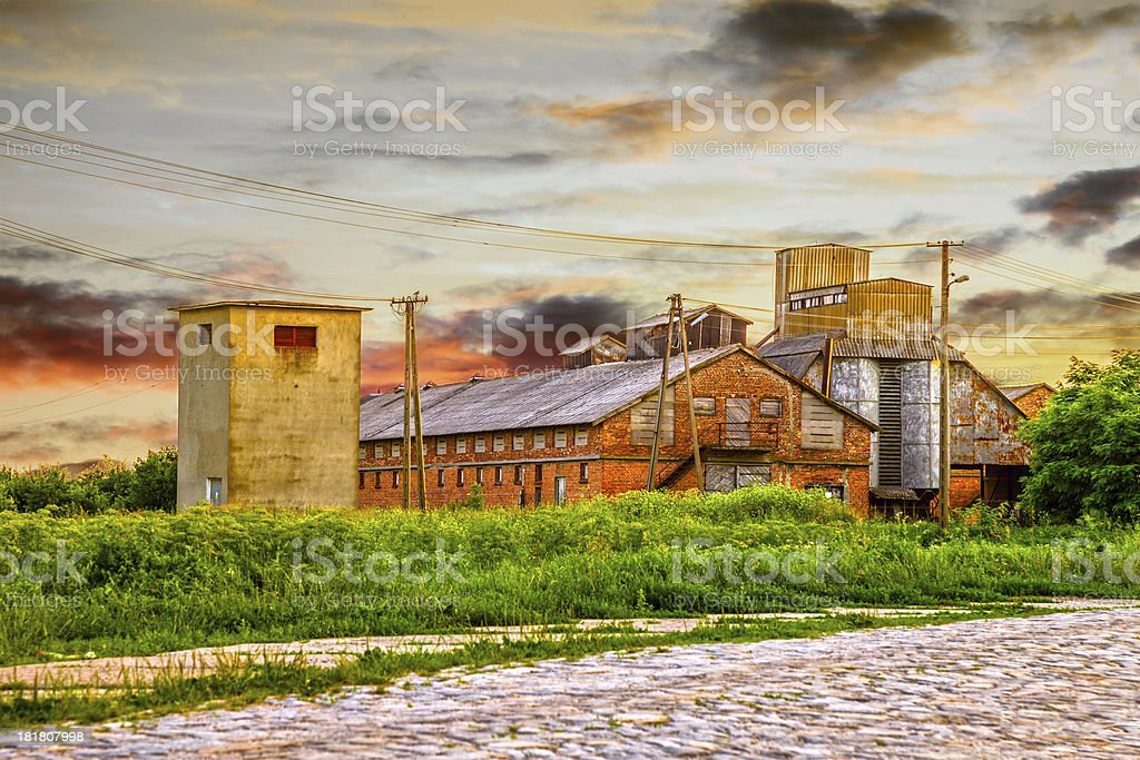 Old country farm royalty-free stock photo