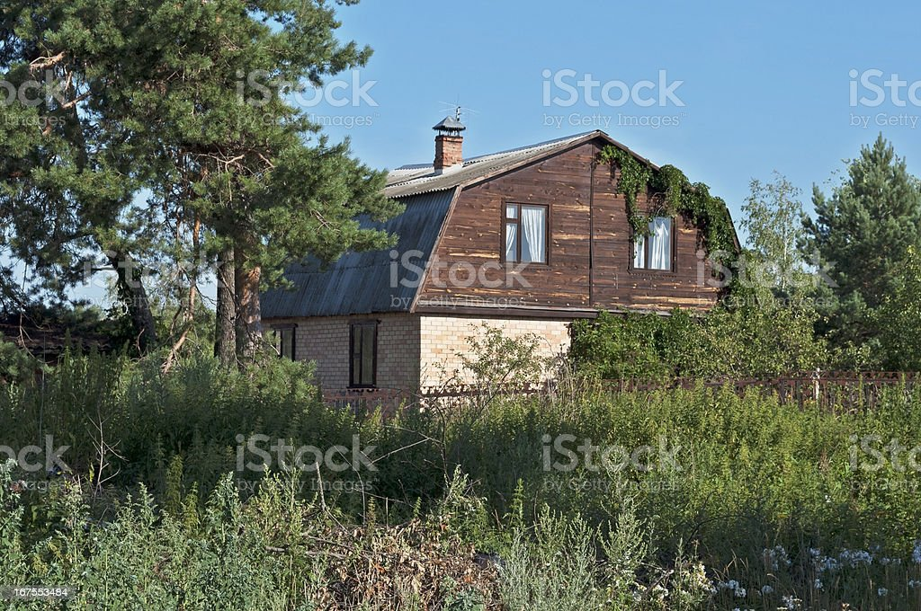Old country house royalty-free stock photo