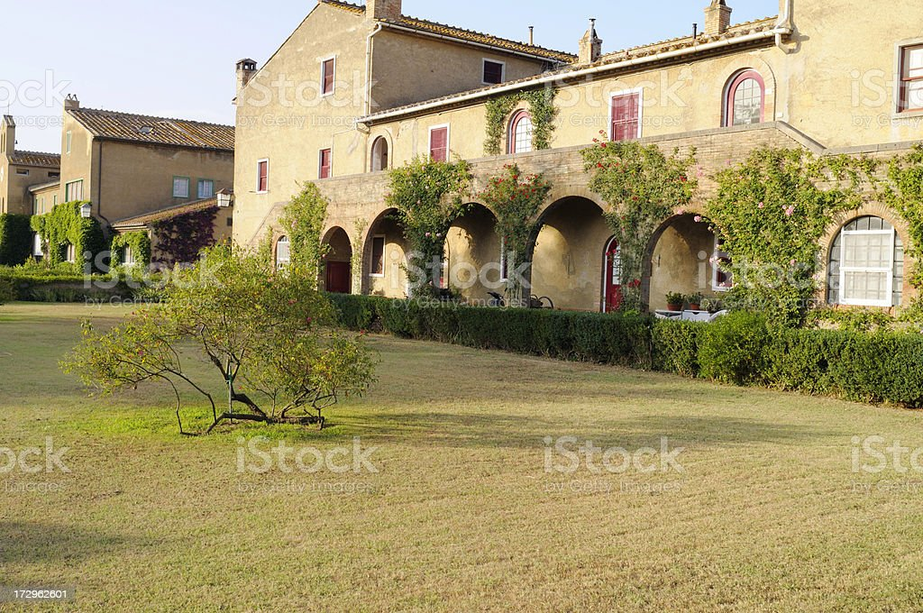 Old Country Inn,Chianti region royalty-free stock photo